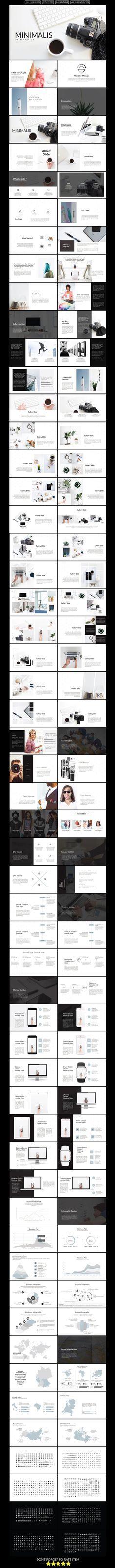 Minimalis Multipurpose Keynote Presentation Template