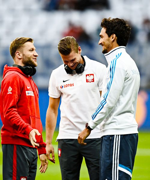 Jakub Blaszczykowski, Lukasz Piszczek & Mats Hummels