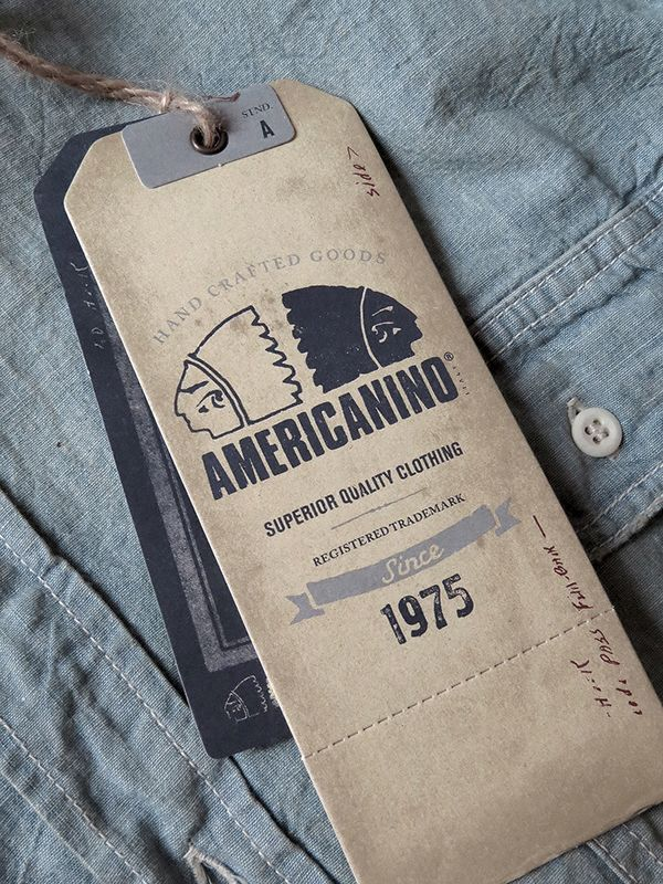 Complete rebranding for Americanino: Logo Update, look and feel, hang tags and interior labels for their for lines (Jeans, fashion, chinos and accesories).