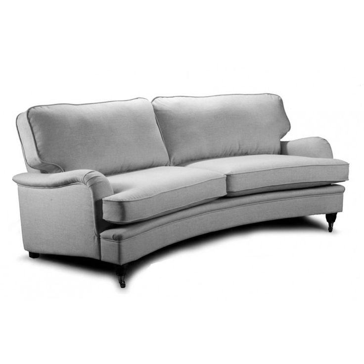 Howard Luxor svängd 3-sits soffa - Valfri färg