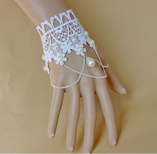 • Material: Lace & Artificial Pearl • Size: Adjustable For Most Wrists • Package: One Lace Hand Bracelet  ❤Yes, I Do! Ships Everywhere!❤  Estimated delivery time: USA and All Other Countries: 15-25 business days.  Please check out the many other romantic and magical wedding items in Yes, ...