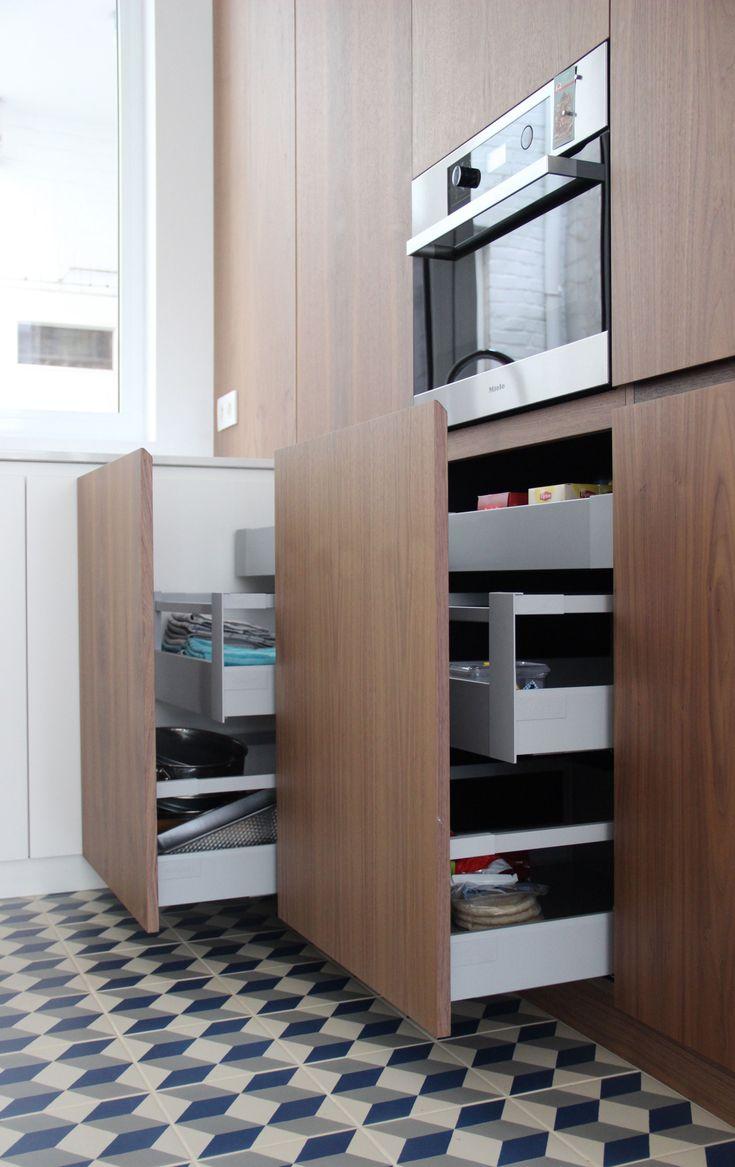 17 beste idee n over amerikaanse keuken op pinterest houten werkbladen houten keuken - Kleine amerikaanse keuken ...