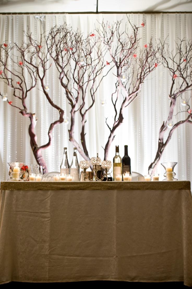 Manzanita Tree Head Table