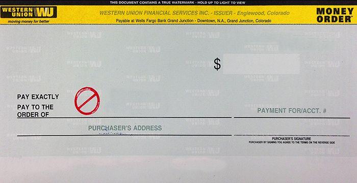 Western Union Bank Receipt Regarding Blank Money Order Template Money Order Money Template Union Bank