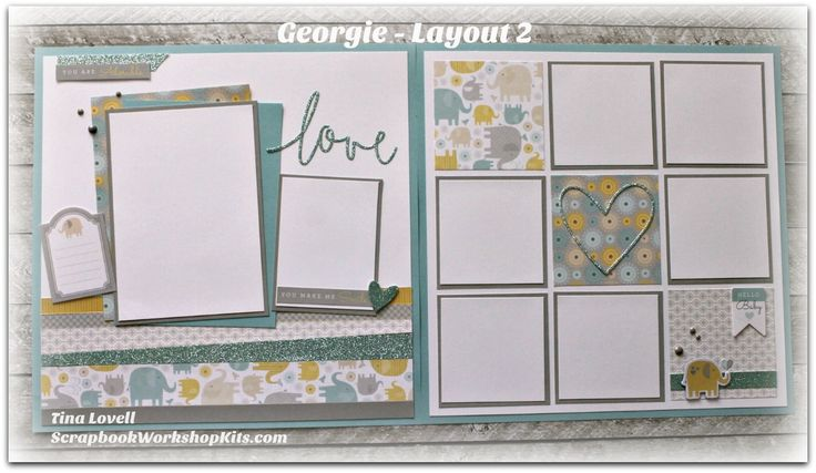 Hi Everyone, Today's kit is featuring the Georgie paper pack from Close To My Heart. This adorable baby themed kit is so adorable and I am s...