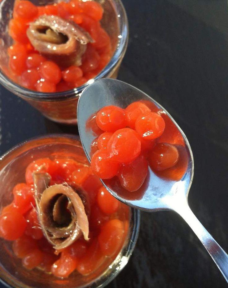 caviar de tomàquet (caviar de tomates)
