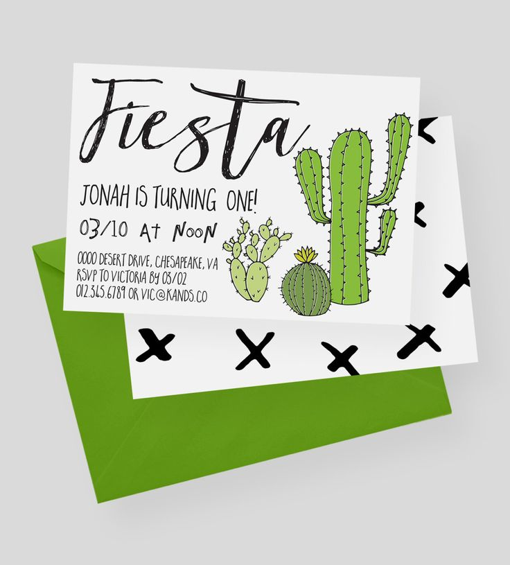 Cactus Party Invitation | Fiesta, Cacti, Pink, Green, Cactus, Fiesta Birthday Invite, Cactus Birthday, Boy or Girl, Fiesta Invitation by kandsdotco on Etsy https://www.etsy.com/listing/488717270/cactus-party-invitation-fiesta-cacti