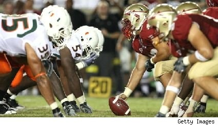 FSU VS. MIAMI The countdown begins!