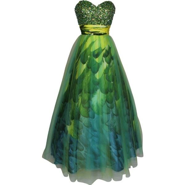 Green Masquerade Ball Dresses