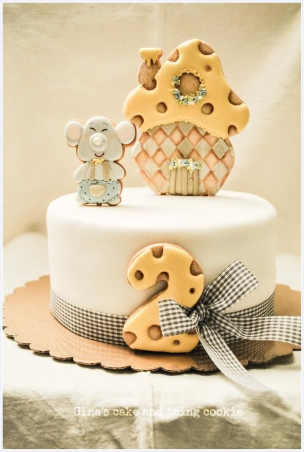 Cakes dressed cakes: the Mattia's Birthday by Ginascake