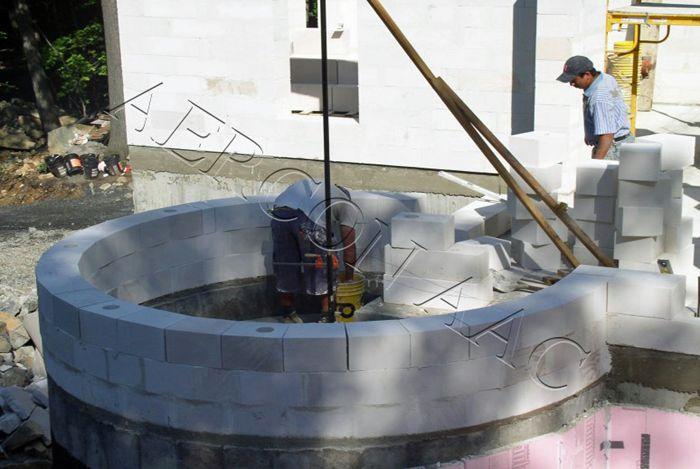 25 Best Aircrete Images On Pinterest Autoclaved Aerated