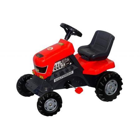 """Coloma Каталка с педалями Трактор  — 6299р. -------------------- Каталка с педалями """"ТракторTurbo"""" красного цвета марки Coloma. Яркая каталка оснащена педалями ивыполнена из прочного пластика. Ребенок без труда будет управлять такой каталкой, благодаря удобным педалям с системой цепного привода и рулю с клаксоном, который поворачивается с легкостью. Модель с широкими и большими колесами позволит передвигаться не только по асфальту или ровной поверхности. Комфортабельность во время поездки…"""