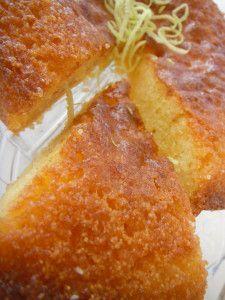 Gâteau polenta citron (sans gluten)