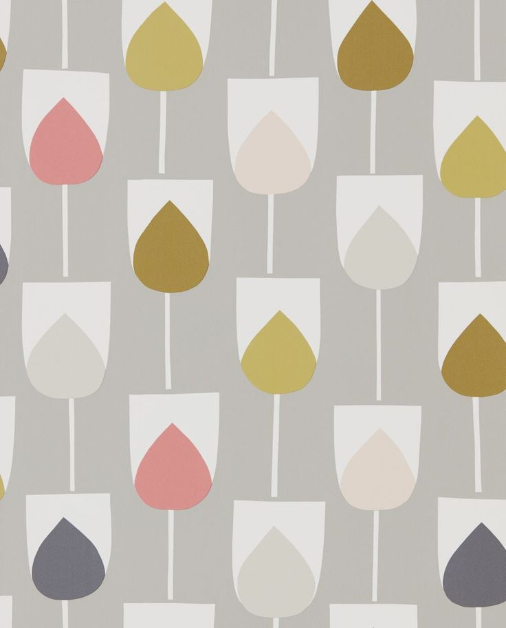 Sula Flamingo, Honey and Linen wallpaper by Scion