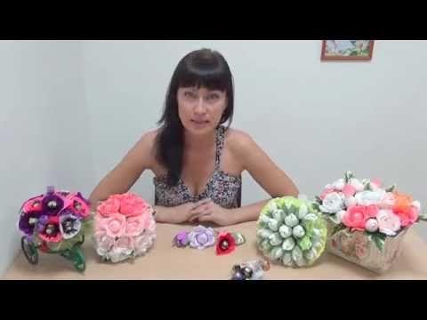 Как достать конфеты из конфетных букетов - Ярмарка Мастеров - ручная работа, handmade