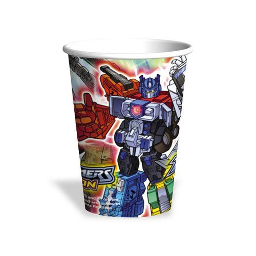 Transformers Energon Cups - 8 Count (9 oz.) @ niftywarehouse.com #NiftyWarehouse #Movies #Transformers