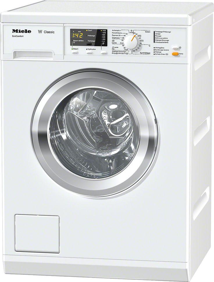 Lave linge séchant - MIELE La qualité certifiée Miele et le départ différé à un prix attractif. 1000 €