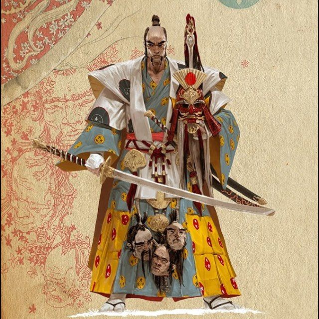 Inspired samurai art by Adrian Smith - thanks 🙏🏼 • • • • • • • • • • • • • • • • • • • • • • • • • • • • • • • •  #shinobi #assasin #warrior #samurai #manga #ниндзя #katana #art #digitalart #бусидо #japan #bushido #катана #воин #fantasy #blade #Ninja #самурай #Япония #samurai #japan #japanese #japan🇯🇵 #japanesestyle #anime  #animeart #fantasyart#drawings#asian #ronin #ронин