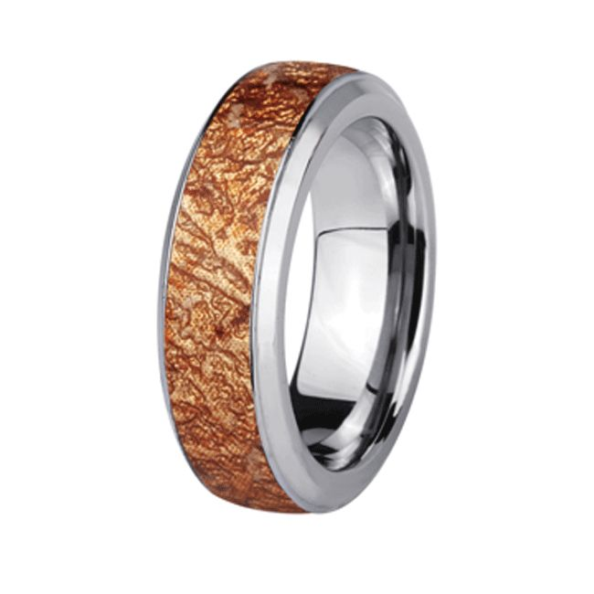 Polished Stainless Steel with Dragon Blood Wood inlay http://lily316.com.au/shop/collection/stainless-steel-band-dragonblood-wood-and-resin-inlay/