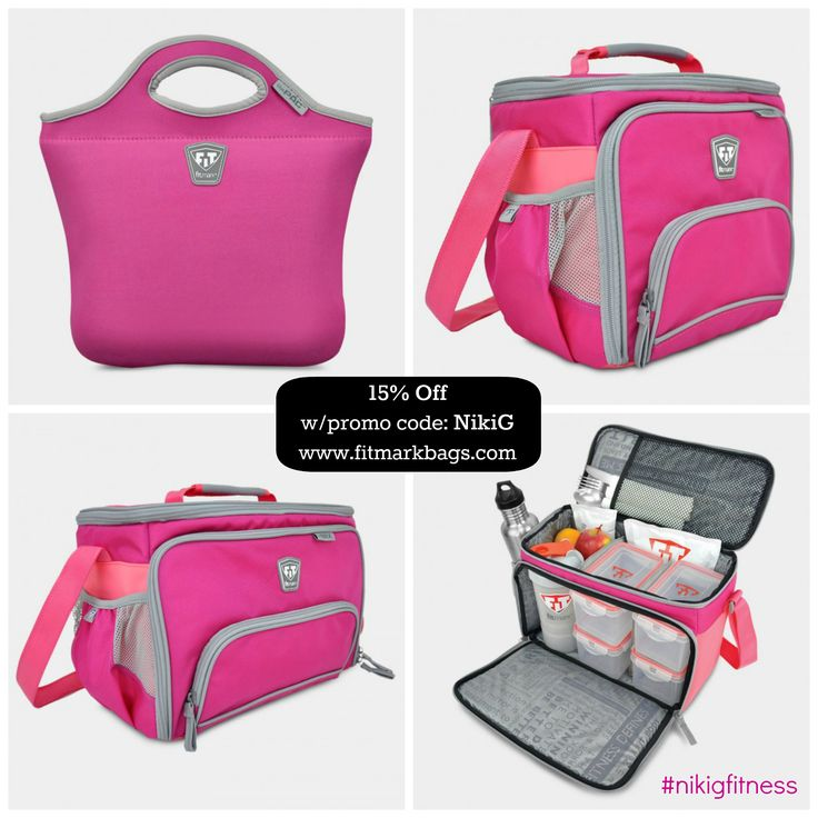 Meal Management bags by Fitmark Save 15% off with promo code NikiGhttp://nikig.net/food-prep-sunday-the-ultimate-lunch-boxes-for-women/