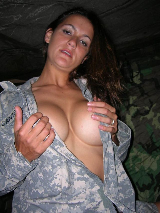 hot sexy girl army officers