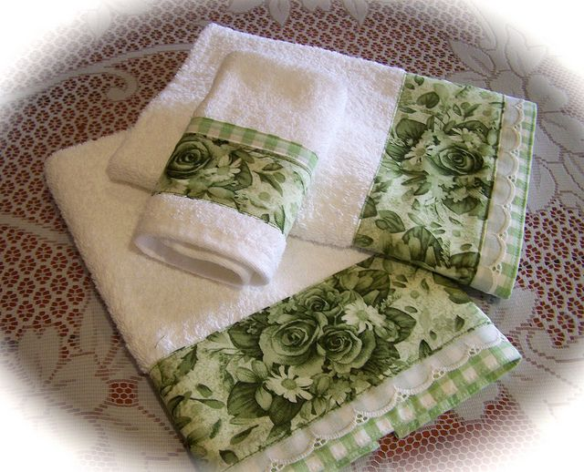 Bathroom towel set for Nora. | Flickr - Photo Sharing!