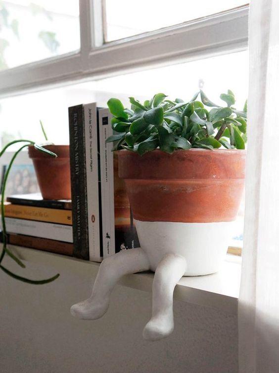 Love this cute planter! -design addict mom