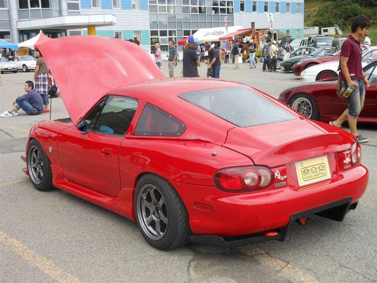 Nb Mazda Miata With Autokonexion Fastback And Diffuser