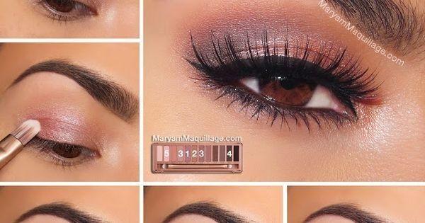 ! Maryam Maquillage !: NAKED 3 Tutorial: & Smokey& #eye #rose #satin #tutorials