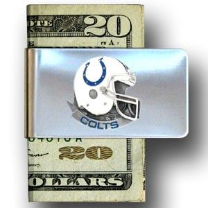 """Checkout our #LicensedGear products FREE SHIPPING + 10% OFF Coupon Code """"Official"""" Indianapolis Colts Steel Money Clip - Officially licensed NFL product Licensee: Siskiyou Buckle Stainless steel money clip Strong clip securely holds your cash Makes a great gift for an avid sports fan Indianapolis Colts emblem - Price: $16.00. Buy now at https://officiallylicensedgear.com/indianapolis-colts-steel-money-clip-fmc050"""
