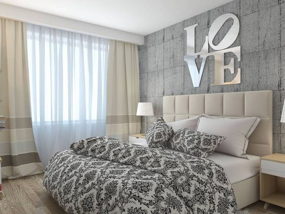 Ideas for decorating a marriage room http://comoorganizarlacasa.com/en/ideas-decorating-marriage-room/