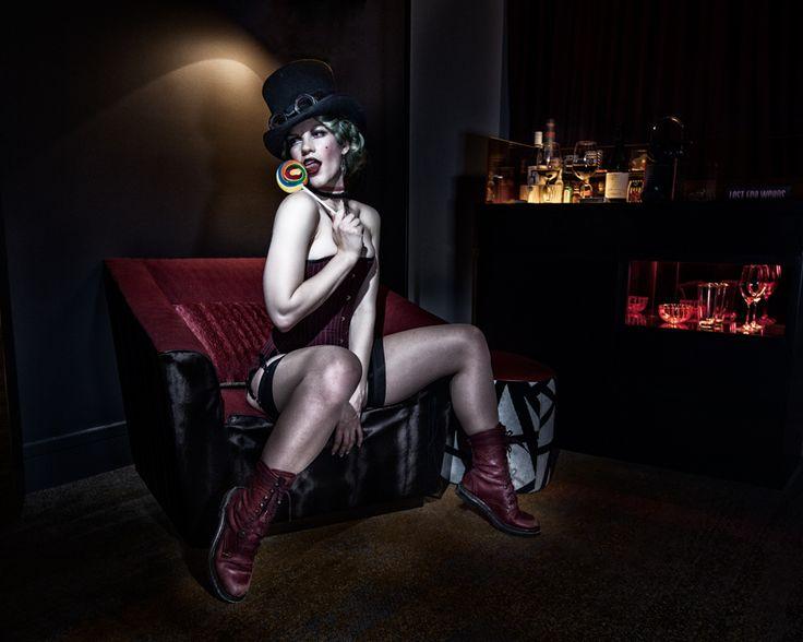 Cabaret Concept Shoot - Lucille Spielfuchs
