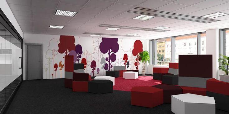 Nyitott irodákról szóló sorozatunkban ma egy újraértelmezett közösségi tér, a PIAZZA egy lehetséges bútorozási tervét szeretnénk bemutatni. Változatos, elvonulást vagy kollaborációt segítő ülőbútorok elhelyezését javasoljuk, ami segít abban, hogy a munka monotonitásából rövid időre kizökkenve megújult energiával térjünk vissza feladatainkhoz.