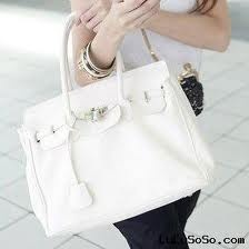 "White Berkin bag, Think I have decided what Im going to do with the first ""big"" paycheck!!"