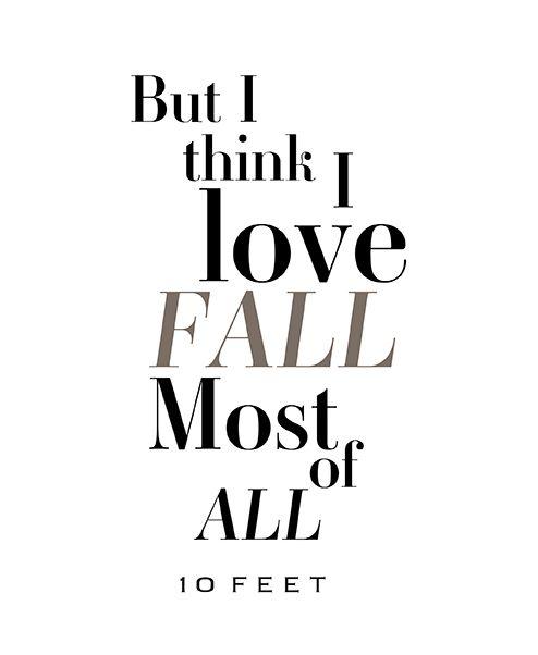 10 FEET | Fall 2015 | Be Inspired