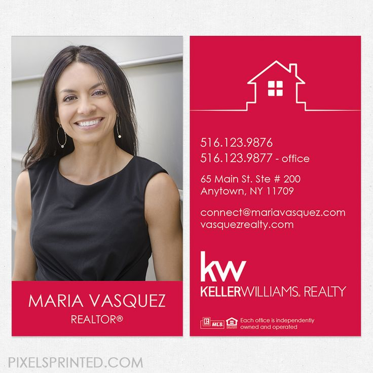 85 best Keller Williams business cards and stationery. images on ...