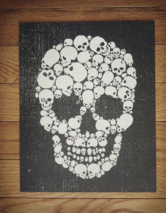 Skull of Skulls Art Print by Mike and Karen Arms