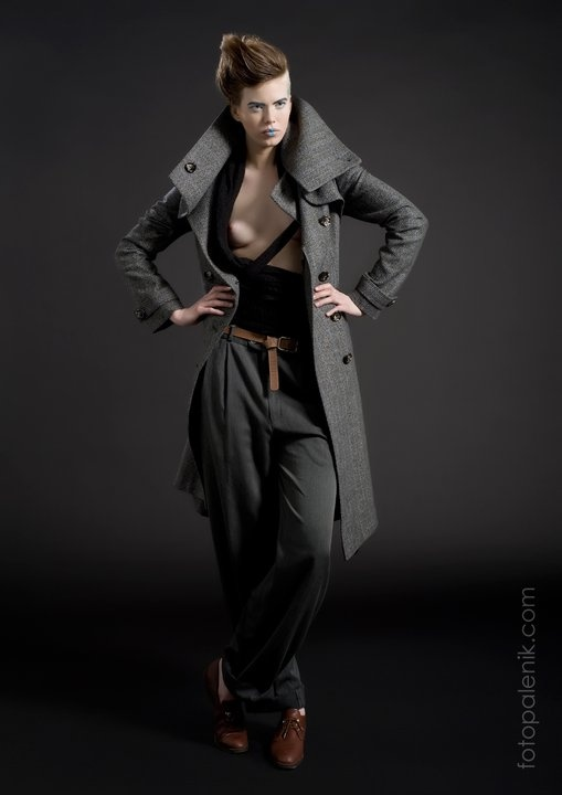 Michaela Mazalanova coats collection by Jozo Palenik