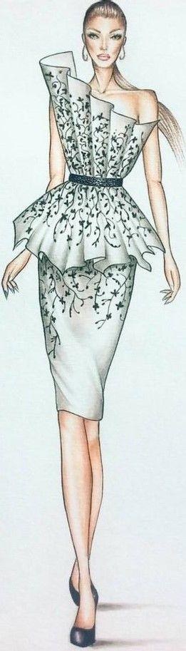Niki Kinney  Fashion Illusration