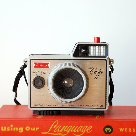 1960's Ansco Cadet II Vintage Camera 127 Film Camera by vint on Etsy