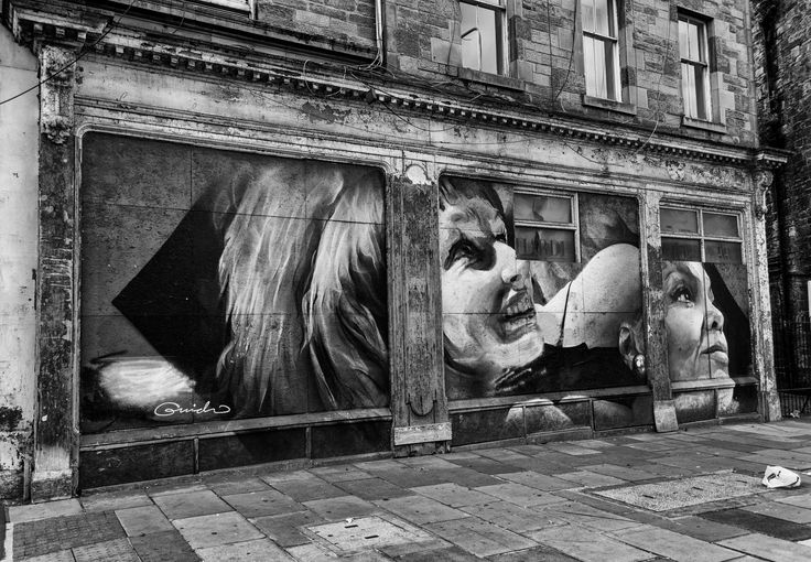 Leith Walk Mural.
