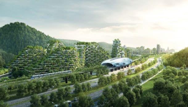 Ciudad Bosque diseñada por Stefano Boeri