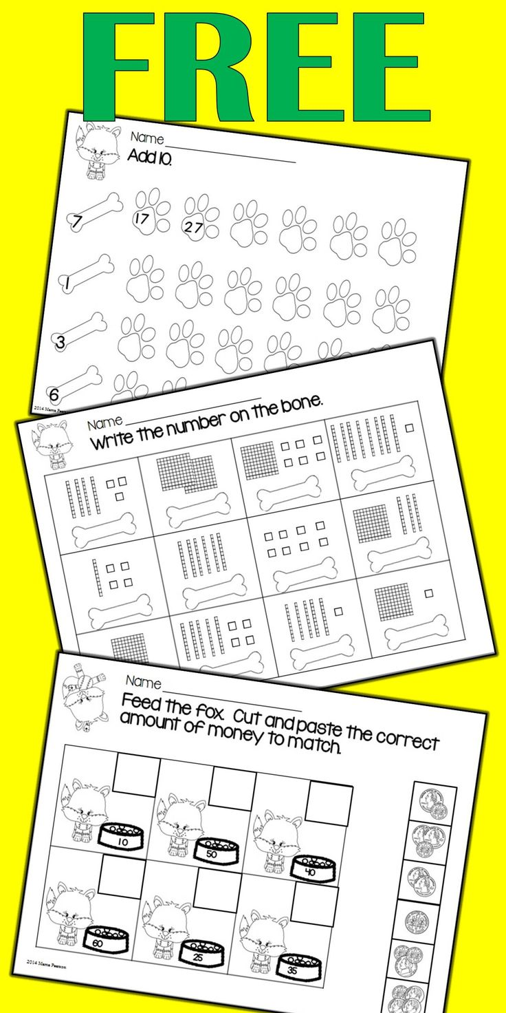 8 pages of NO PREP math printables. Your students will work with time, money, addition, greater than, less than, equal to, odd and even, fractions, and place value.