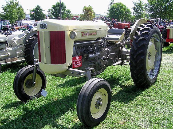 1956 Massey Ferguson 40 Tractor : Best images about massey ferguson traktor on pinterest