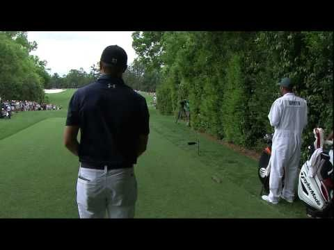 Jordan Spieth and Justin Rose Final Pairing of 2015 Masters Part 1 - YouTube