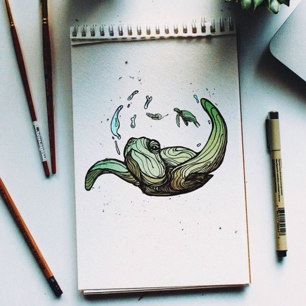 Instagram Daily Sketch par Kyson Dana - Journal du Design
