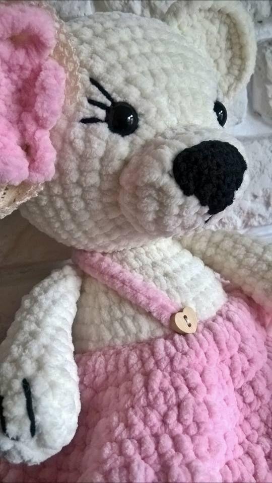 #mis #szydelko #handmade #diy #crochettoys #impresje #rekodzielo #tylkopolskie #recznierobione #crocheting #teddybears #zabawkinaszydelku