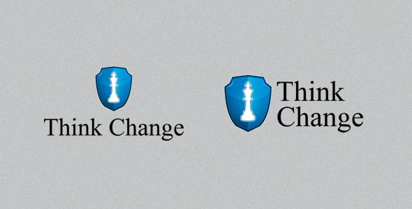 Think Change #Logo #Template on #GraphicMonk