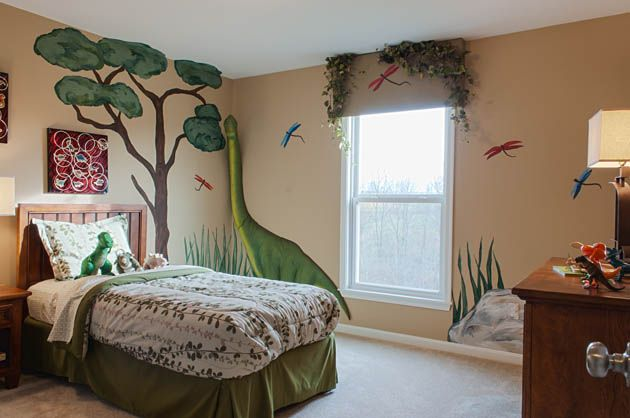 14 Best Images About Dinosaurs! Small Bedroom Ideas. On