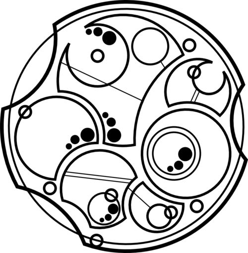 'not all those who wander are lost' in gallifreyan. tattoo idea
